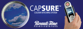 We use the Advanced CapSure colour matching system